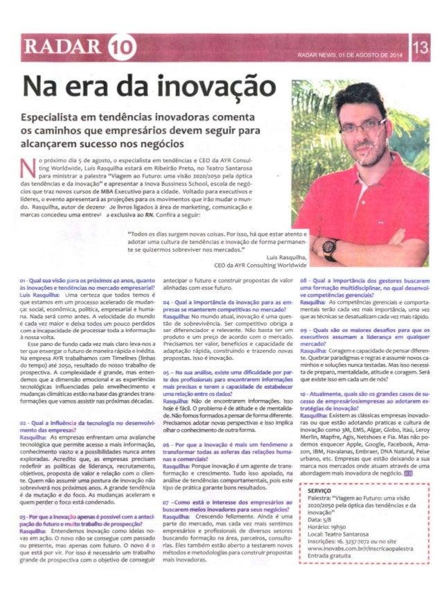 Entrevista Radar Ribeirão Preto