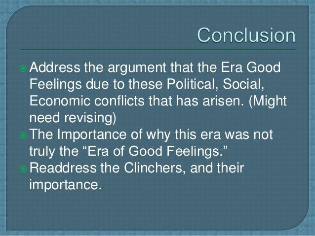 era of good feelings facts