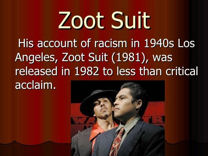 zoot suit luis valdez Amazoncom: zoot suit and other plays (9781558850484): luis valdez: books this item: zoot suit and other plays by luis valdez paperback $1251 in stock.