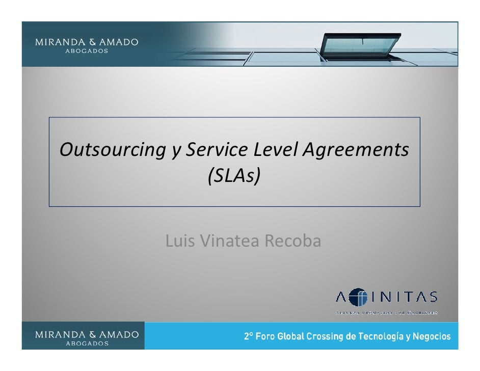 slas in bpo agreements Slas establish customer expectations with regard to the service provider's performance  so slas tend to broad agreements intended to cover all of a service.