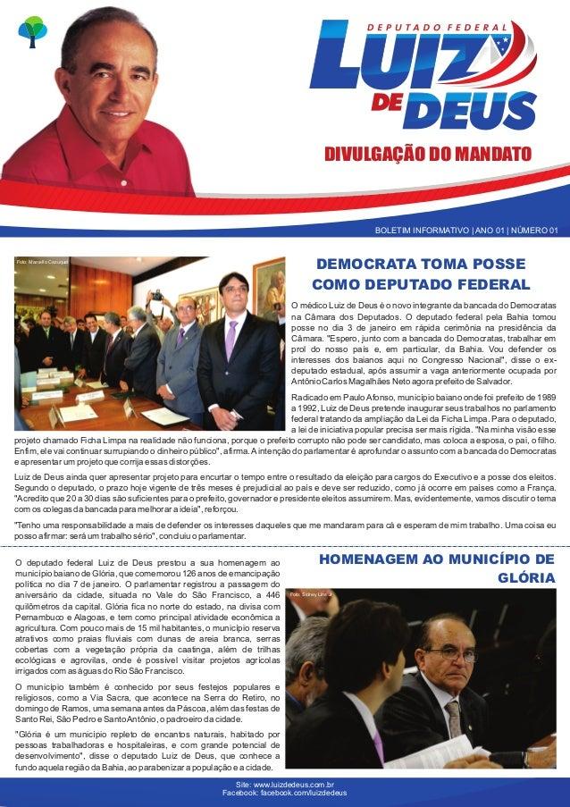 DIVULGAÇÃO DO MANDATO                                                                                                   BO...