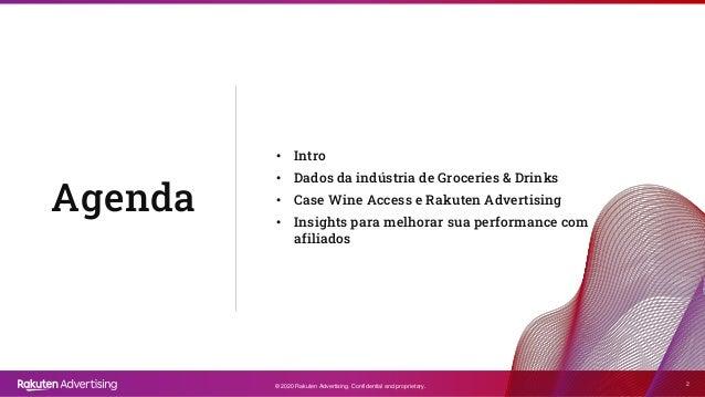 [Grocery & Drinks| Congresso do E-Commerce] Como a afiliação ajudou o setor de Grocery & Drinks? Slide 2