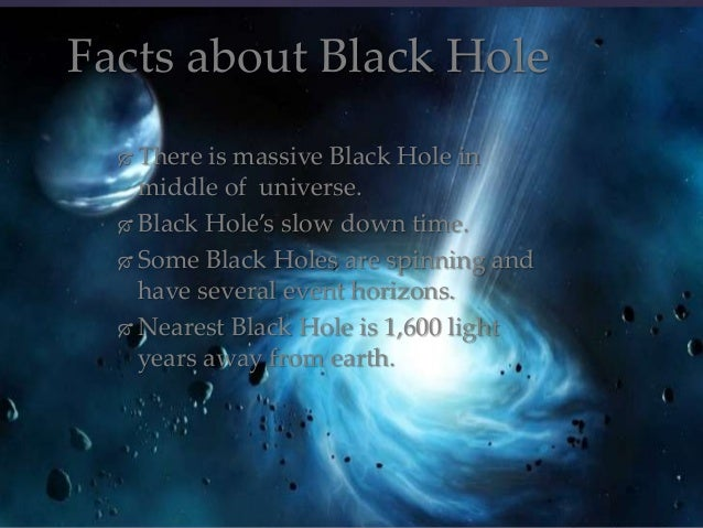 Slow Down Time Will The Black Hole - Pics about space