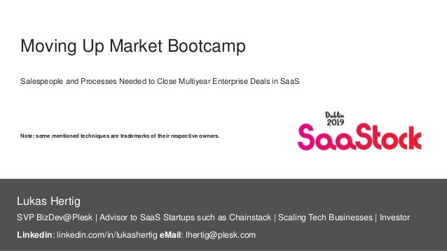 SVP BizDev@Plesk | Advisor to SaaS Startups such as Chainstack | Scaling Tech Businesses | Investor Lukas Hertig Moving Up...