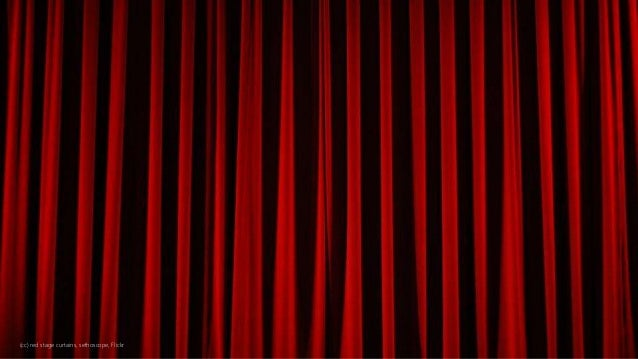 (cc) red stage curtains, sethoscope, Flickr