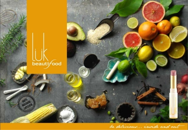 luk beautifood - 100% natural makeup made from clean active food for a healthy naked glow