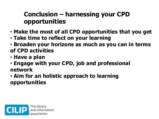 Harnessing cpd a road map for the future by Luke Stevens