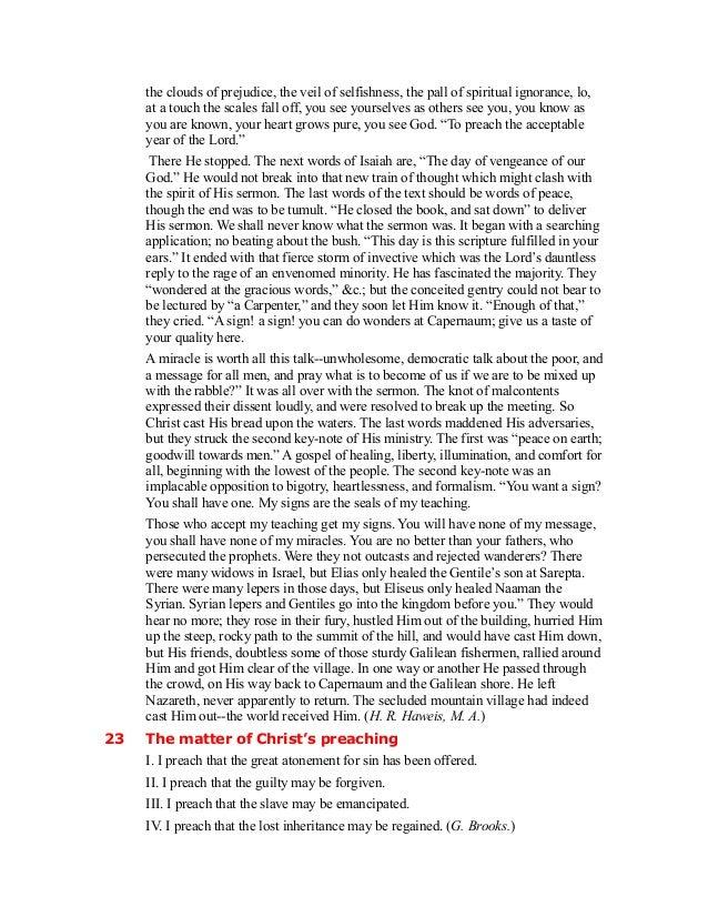 Commentary on Luke 4:14-30