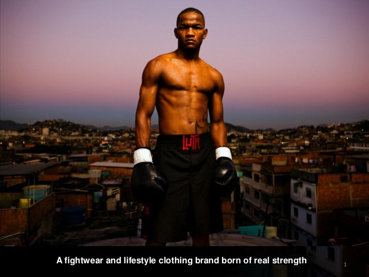 A fightwear and lifestyle clothing brand born of real strength   1