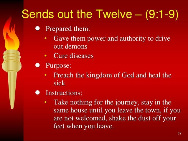 Kuvahaun tulos haulle Luke 9:1