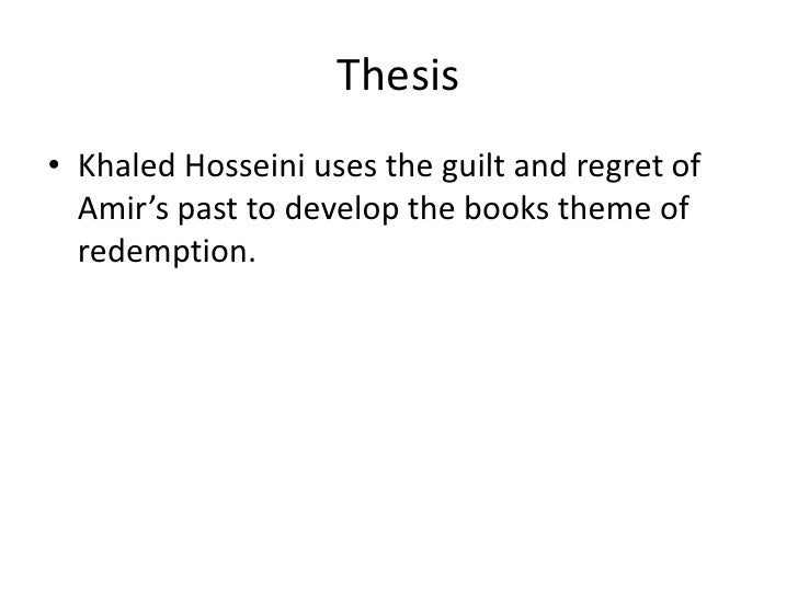luke watkins presentation the kite runner thesis• khaled hosseini uses the