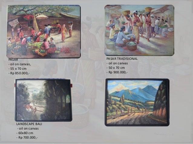 087838671118 Lukisan Pemandangan Lukisan Alam Gambar Lukisan Tanga