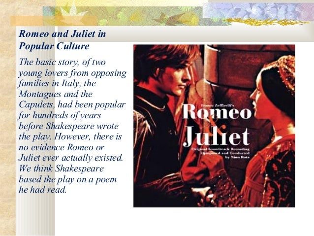 Why Is Romeo And Juliet So Famous