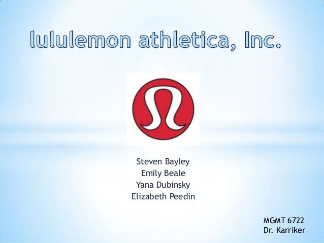 lululemon marketing mix View kevin boyd's profile on linkedin, the world's largest professional community kevin has 7 jobs listed on their profile see the complete profile on linkedin and discover kevin's connections and jobs at similar companies.
