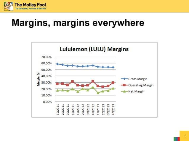 Margins, margins everywhere 5