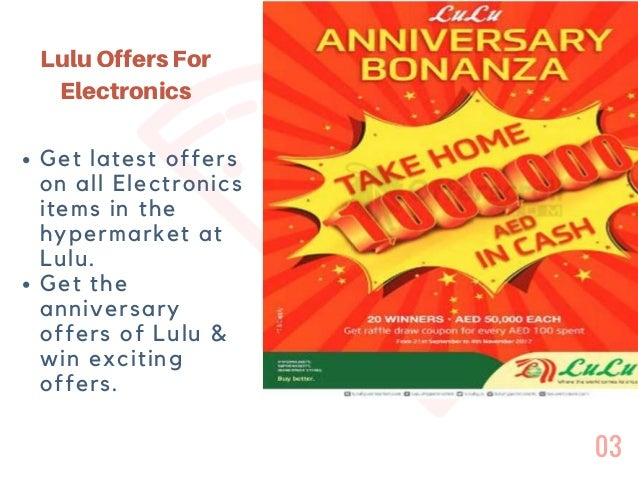 Exciting Lulu Offers For Electronics