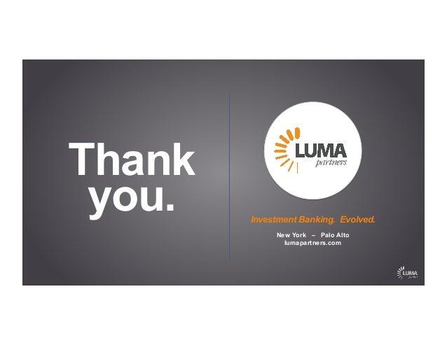 LUMA's 2014 MMA Summit Keynote