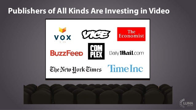 Publishers of All Kinds Are Investing in Video