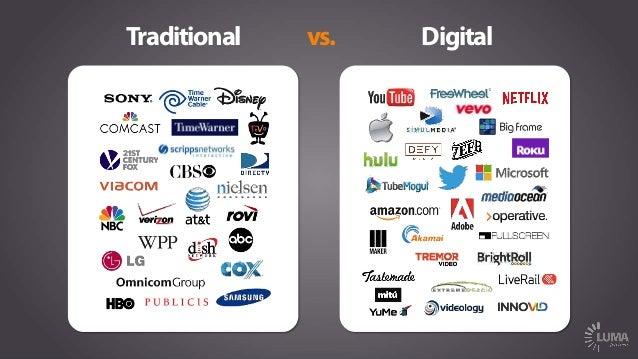 Traditional Digitalvs.