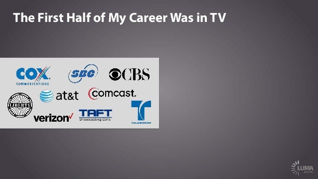The First Half of My Career Was in TV