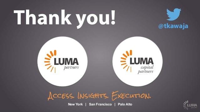 "LUMA's Upfront Summit Keynote: ""The Future of TV"""