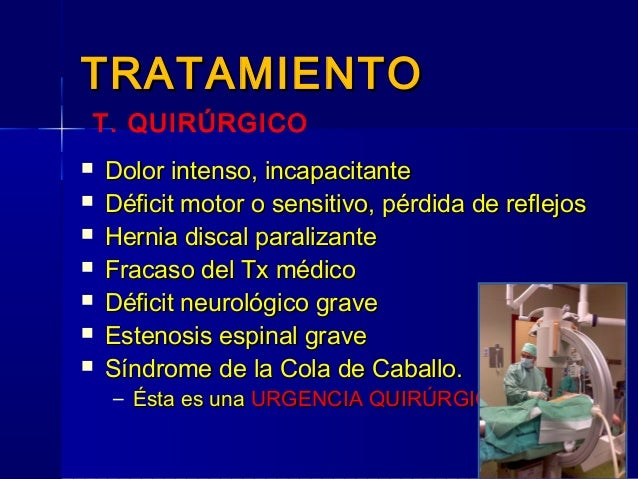 Los medios públicos a la hernia intervertebral sheynogo del departamento de la columna vertebral