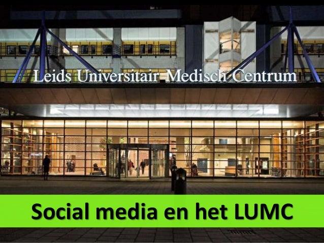Social media en het LUMC