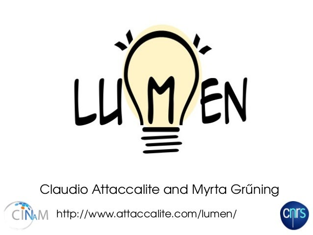 http://www.attaccalite.com/lumen/ Claudio Attaccalite and Myrta Grűning