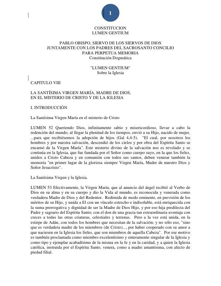 1                                     CONSTITUCION                                    LUMEN GENTIUM              PABLO OBI...