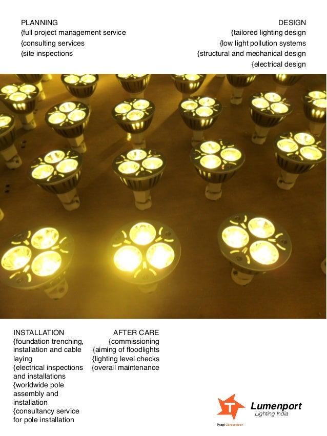Lighting India Tyagi Corporation; 21.  sc 1 st  SlideShare & Lumenport Lighting India LED lighting brochure azcodes.com