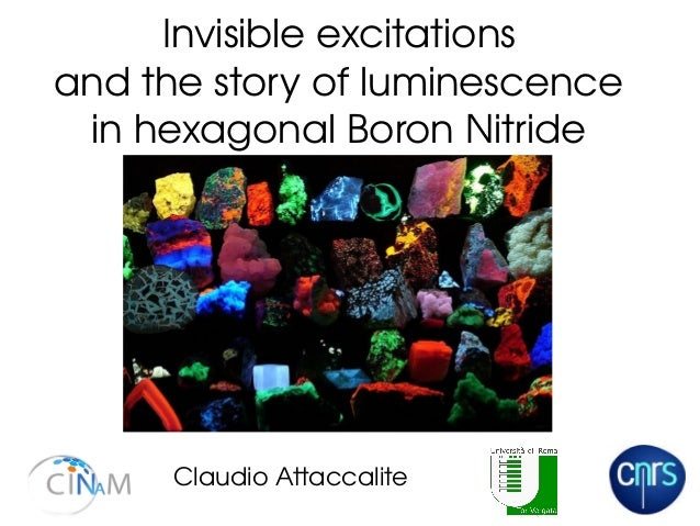 Invisible excitations and the story of luminescence in hexagonal Boron Nitride Claudio Attaccalite