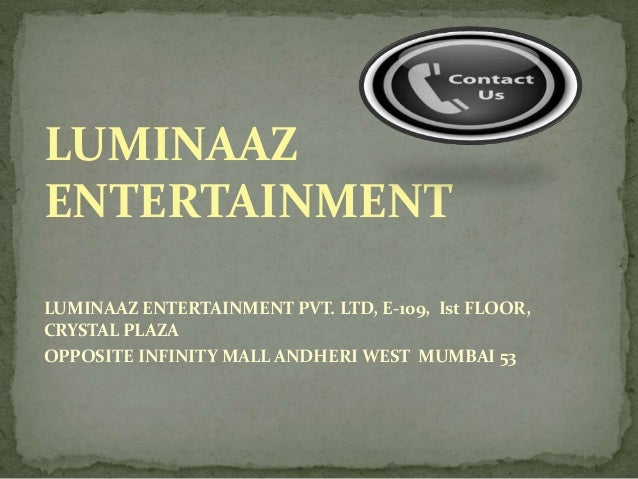 Luminaaz Entertainment