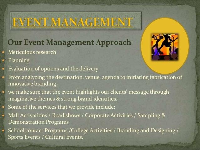  Conferences  Seminars  Product Launch  Rewards & Recognition  Sales Promotion  Exhibitions & Trade Show  Press Con...