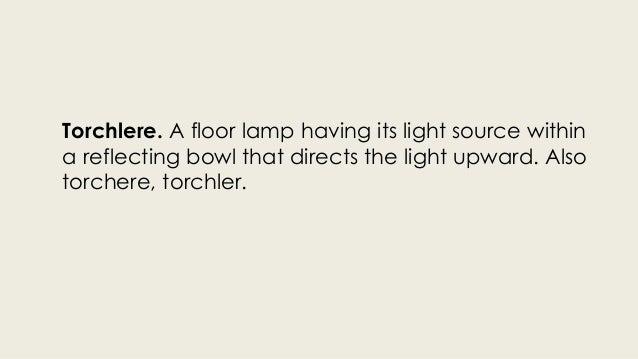Types of Lighting and Luminaire