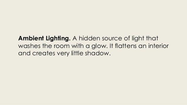 AESTHETIC LIGHTING