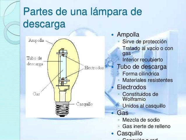 Luminarias de descarga de baja presion Slide 3