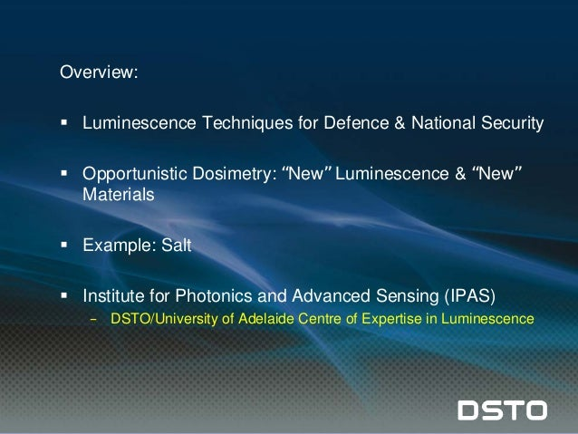 Surface dating by luminescence an overview
