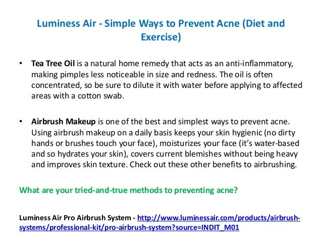 Emergency, the Air in The House Can Cause Acne