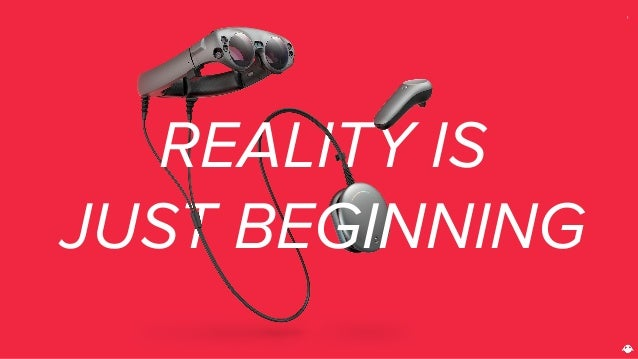 REALITY IS JUST BEGINNING 1