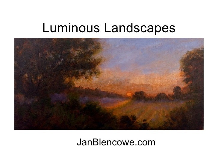 Luminous Landscapes JanBlencowe.com