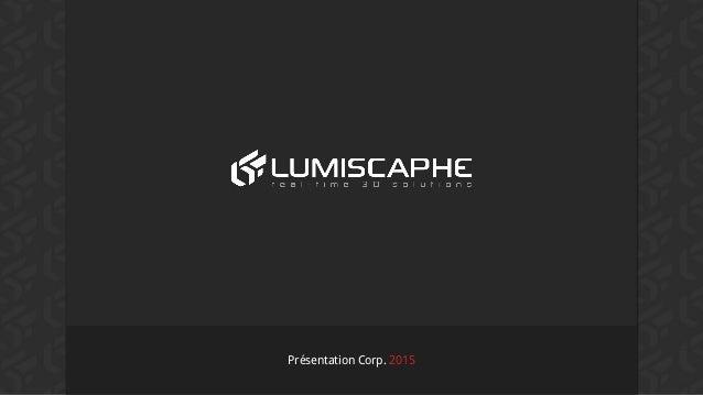 Présentation Corp. 2015