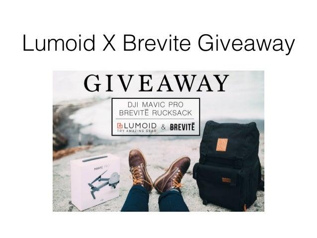 Lumoid X Brevite Giveaway