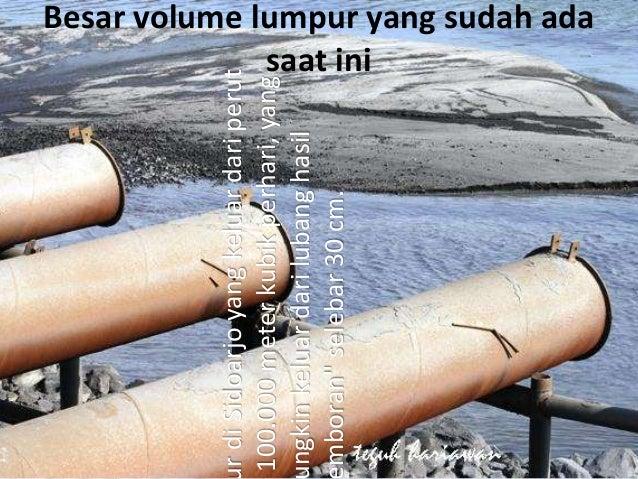 Dampak yang diakibatkan bagi masyarakat sekitar maupun bagi aktivitas perekonomian di Jawa Timur • Lahan dan ternak yang t...