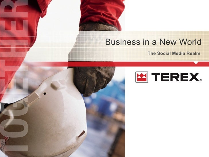 The Social Media Realm  Business in a New World