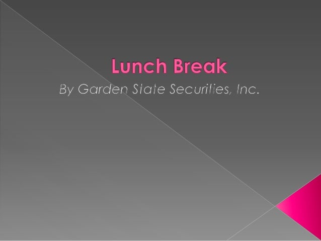 Based in Red Bank, New Jersey, LunchBreak aids its community throughphilanthropy. It provides those in needwith food, emot...