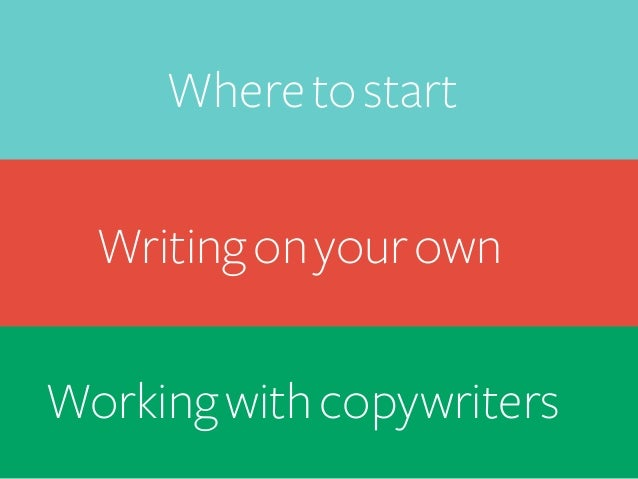 Writing on your own   2 Design principles and best practices