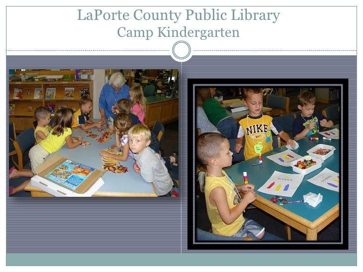 2010 2011 over this last year for Laporte county public library