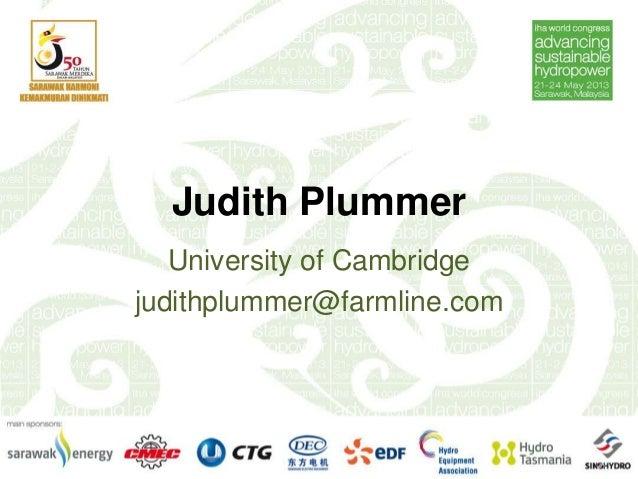 Judith PlummerUniversity of Cambridgejudithplummer@farmline.com