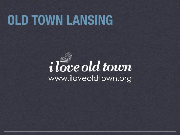 OLD TOWN LANSING