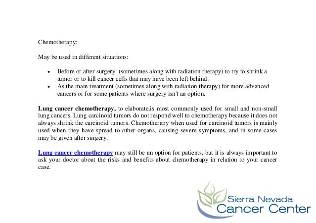 Lung Cancer Treatment Options